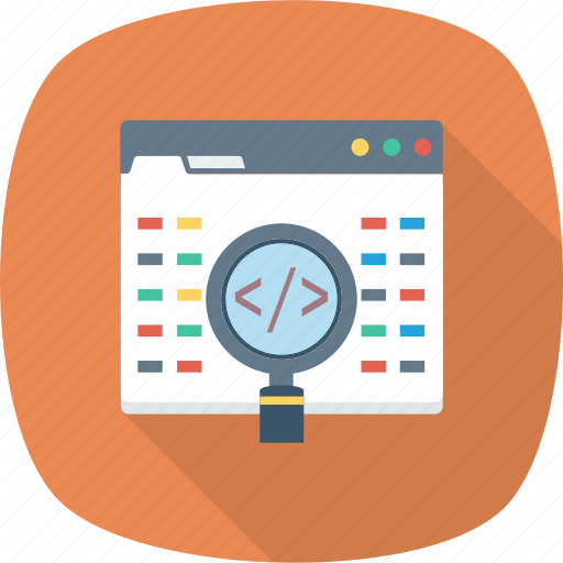 api, coding, developer, development, man, programming, search icon