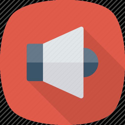 Loudspeaker, sound, up, volume, speaker, device, audio icon
