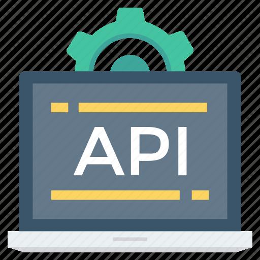 api, app, coding, computer, development, settings, software icon