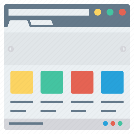 app, application, browser, page, web, website, window icon