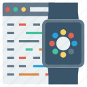 apple, code, development, iwatch, program, watch, watchkit icon