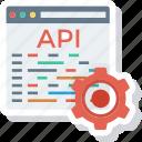 api, app, coding, development, settings, software, web