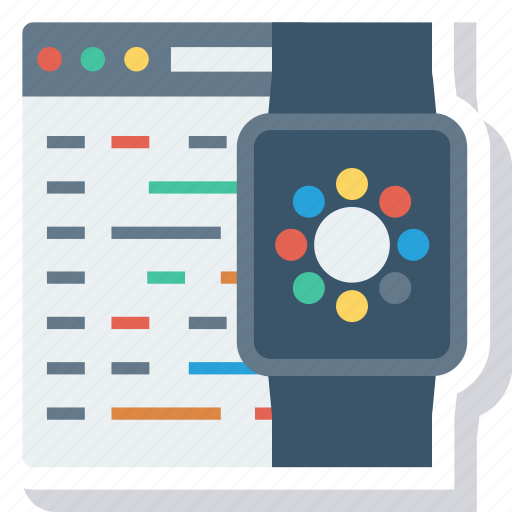 apple, code, development, iwatch, program, watch, watchkit icon