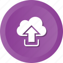 backup, cloud, ftp, hosting, storage, upload, uploading icon