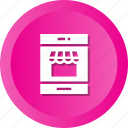cart, mobile, shop, shopping icon