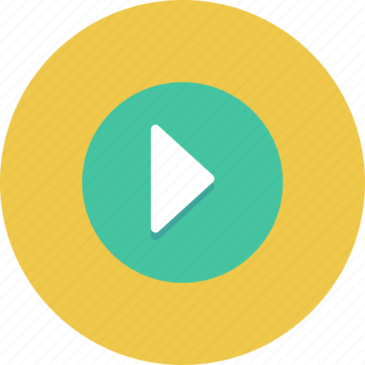 circle, content, media, music, play icon icon