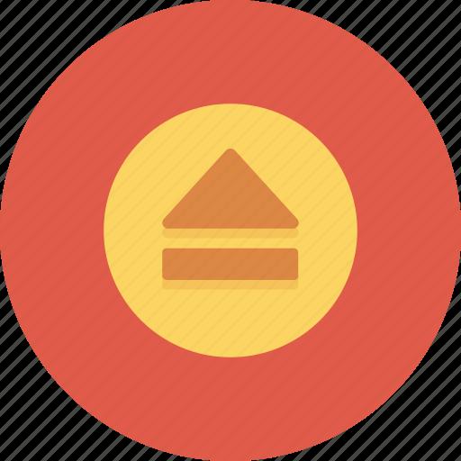eject, media control, multimedia icon icon