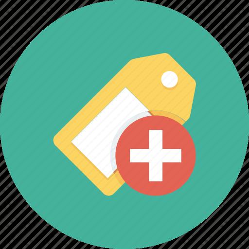 add, bookmark, favorite, tag icon icon