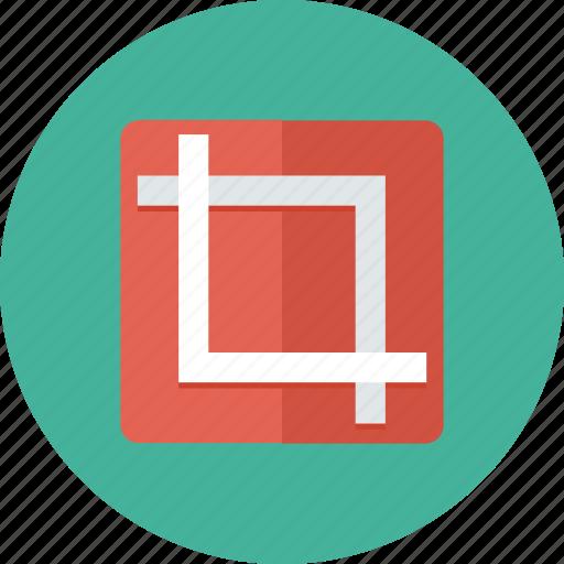 adjust, control, crop, crop tool, designer tool, interface, tool icon icon