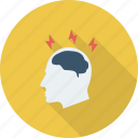 brain, brainstorming, business, education, ideas icon