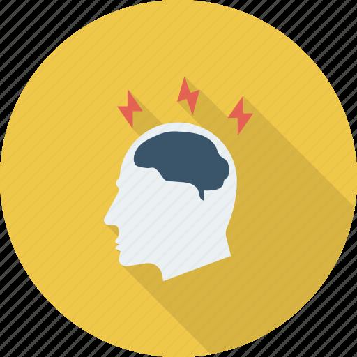 brain, brainstorming, business, education, ideas icon