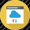 browser, business, cloud, data, internet, storage, web