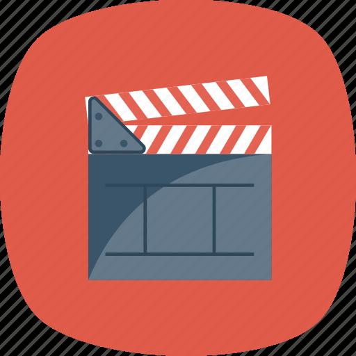 board, clapper, cut, director, making, movie, take icon