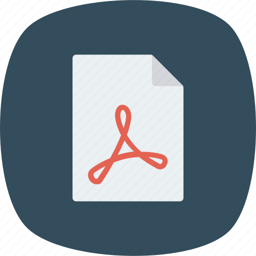 book, file, pdf icon
