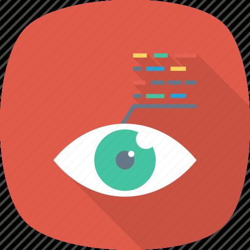 back, code, development, end, script, view, web icon