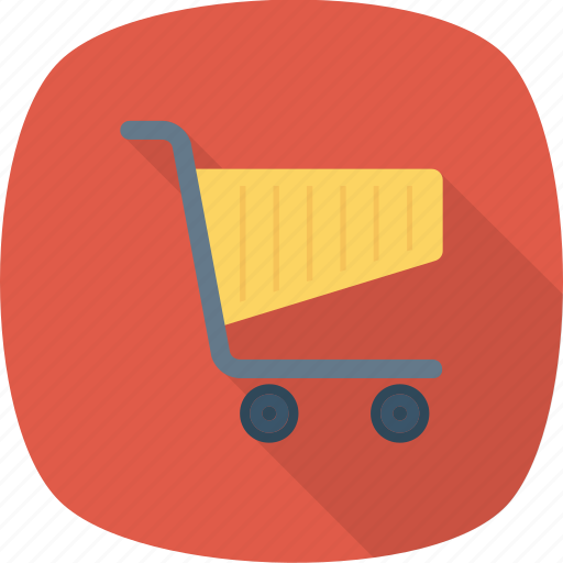 basket, cart, purchase, shop, trolleys icon
