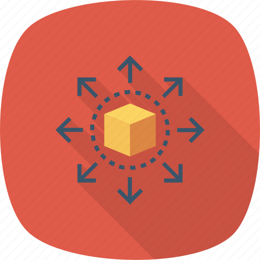 Cube, data, share, sharing icon - Download on Iconfinder