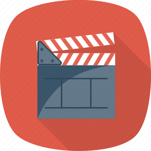 Board, clapper, cut, director, making, movie, take icon - Download on Iconfinder