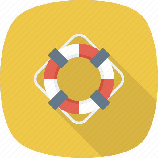 boat, help, lifebuoy, ocean, safe, sea, water icon