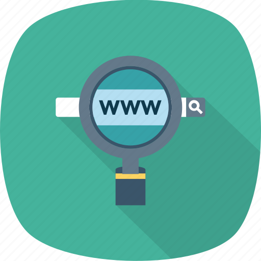 Website, search, http, www, browsing icon - Download