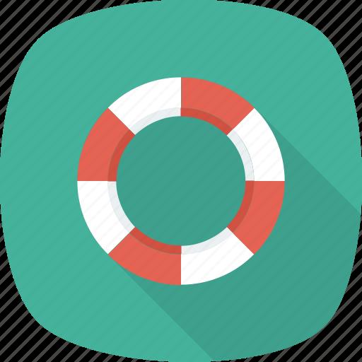 buoy, life, safety, saver icon