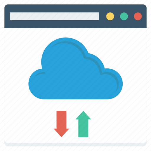browser, business, cloud, data, internet, storage, web icon