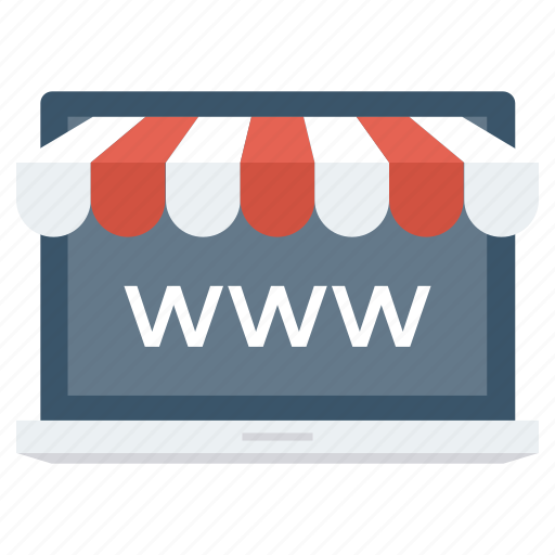 browser, ecommerce, homepage, online, portal, shop icon