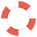 buoy, life, safety, saver icon