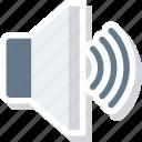 loudspeaker, sound, up, volume, speaker, device