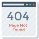 error, internet, online, web icon