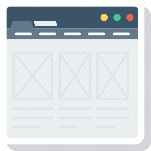 ecommerce, homepage, online, portal, shop, webpage icon