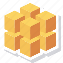 block, box, data, database, registry, rubiks icon
