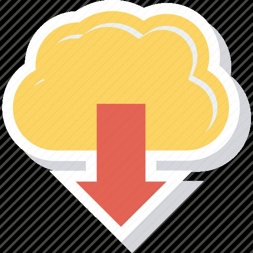 data, database, download, guardar, save, storage, upload icon