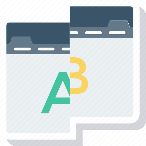 Ab, comparison, test, testing, usability, web icon - Download on Iconfinder