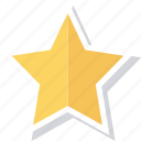 achievement, award, bookmark, favorite, prize, star, winner icon