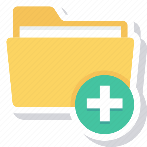 add, clear, folder, open, win icon