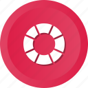 buoy, help, life, lifebuoy, support icon