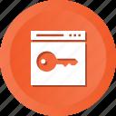 web, business, keyword, classic, site, key, page icon