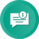 chatting, notice, notification, reminder icon