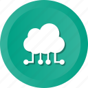 cloud, computing, internet, network icon