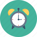 alram, clock, morning, ringing, time, wake icon icon