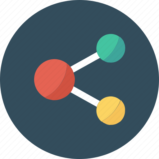 connection, media, network, share, social icon icon