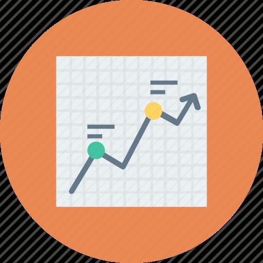 bar chart, bar graph, financial chart, graphic, statistics icon icon