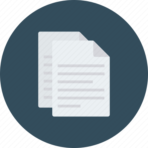 document, documents, editor, files, page, paper, stroke icon icon