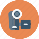 camera, device, film, movie, multimedia, recorder, video icon icon