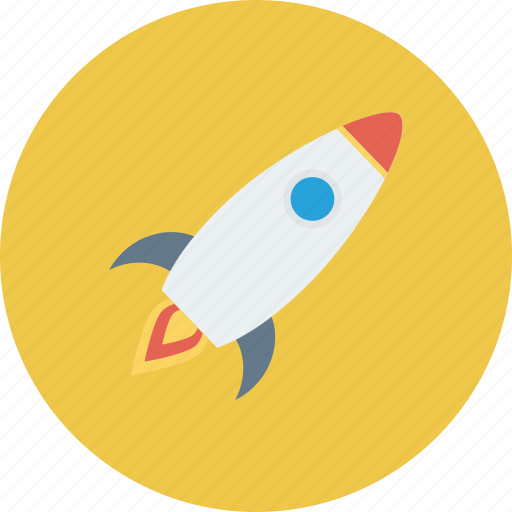 fly, rocket, space, spaceship, startup icon icon