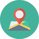 gps, location, map, marker, pin, pointer, position icon icon