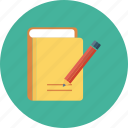 compose, edit, paper, pencil, write icon icon