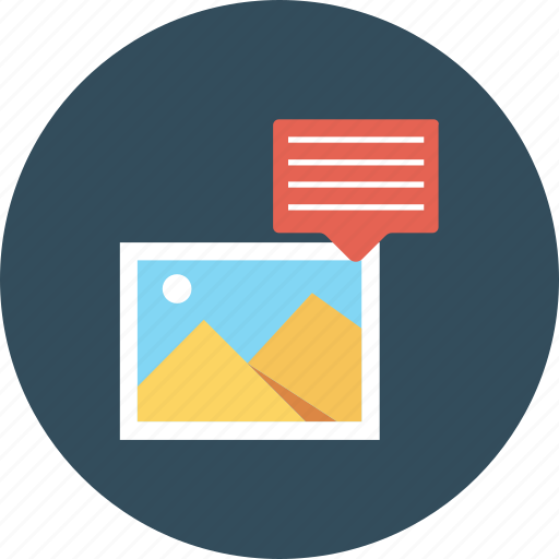 chat, comment, image, photo, photography, picture icon, talk icon
