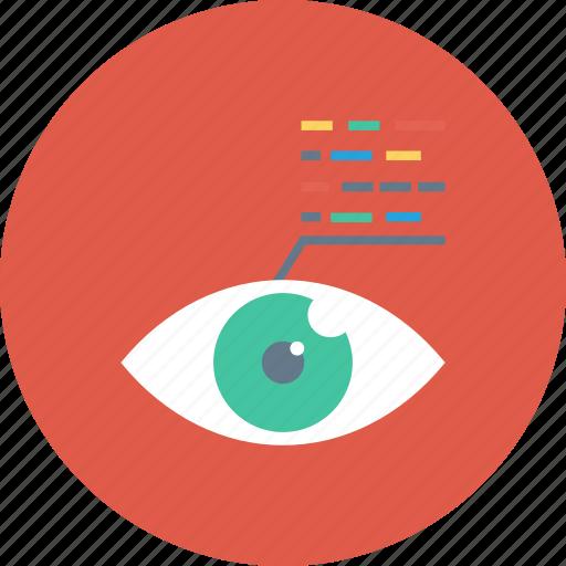 back, code, development, end, script, view, web icon icon